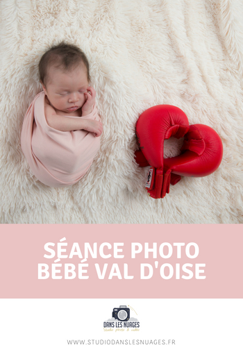 Séance photo bébé Val d'Oise