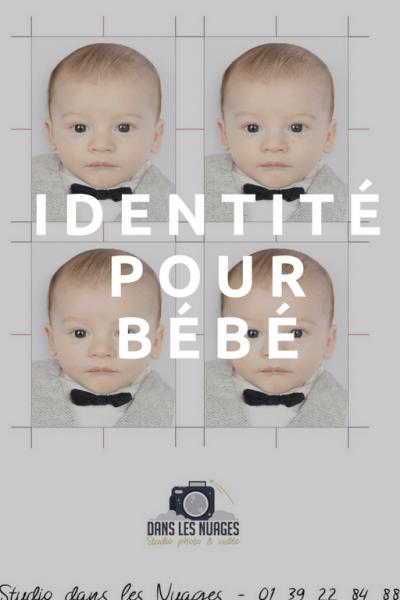Nos photos d'identité bébé, disponible immédiatement.
