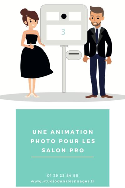 Photomaton dans le Val-d'Oise pour Salon Professionnel